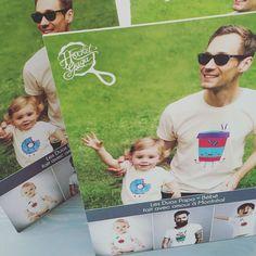 Création de chevalets Hochet Gaga !  #HochetGaga #montreal #fashion #baby #kid #dad