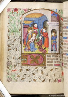 Book of Hours, MS M.84 fol. 53v - Images from Medieval and Renaissance Manuscripts - The Morgan Library & Museum