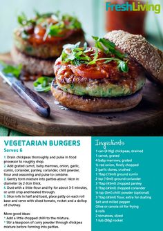 Veggie Burger...looks delicious! Will be making these soon!