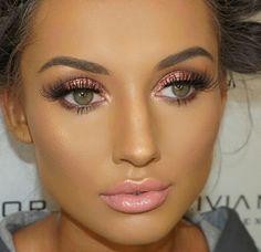 Everyday Smokey Eye Makeup Miladies net tips p Eye Makeup Art, Eye Makeup Tips, Tan Skin Makeup, Edgy Makeup, Makeup Box, Makeup Trends, Makeup Ideas, Makeup Inspiration, Bridal Makeup