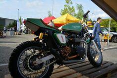 Fly Low II - Triumph Street Tracker #motorcycles #streettracker #motos | caferacerpasion.com