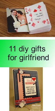 11 diy gifts for girlfriend - Diy Gifts For Girlfriend, Love You, My Love, Diy Tutorial, Girlfriends, Je T'aime, I Love You, Girls