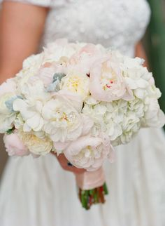 #Peony #Hydrangea #Bouquet | Melissa Schollaert Photography | Petal Pushers | See the wedding on SMP: http://www.StyleMePretty.com/2013/11/19/scottsdale-wedding-from-melissa-schollaert-victoria-canada-weddings-events/