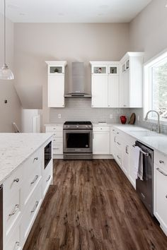 Kitchen redesign by Madeleine Design Group in Vancouver, BC. *Re-pin to your inspiration board* Inspiration Boards, Vancouver, This Is Us, Kitchen Cabinets, Group, Interior Design, Home Decor, Madeleine, Nest Design