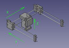 << parte I: Introdução parte III: Sistema de eixos >> Seguindo com o projeto de construção da fresadora CNC, o primeiro ponto a definir são as propriedades da máquina referentes à sua c…