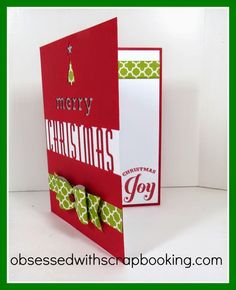 Make a Fast Holiday Card with Cricut Artfully Sent - Close to My Heart