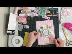 Paper Bag Summer Flip Book Plus Quick Tutorial Diemond Dies DTP - YouTube