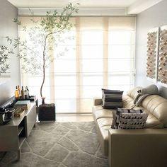 Apaixonada por essa sala e por vários detalhes do @nossoap04   #inspiracao #inspiration #apartamento #home #saladeestar #ape404 #nossoap04