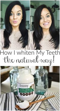 Oil Pulling - How I Whiten My Teeth