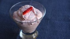 This Minimalist recipe is as basic as dessert gets, and especially in strawberry season it's just perfect It is essentially fresh strawberries and whipped cream (substitute heavy cream, sour cream or yogurt) It can be eaten right away or refrigerated