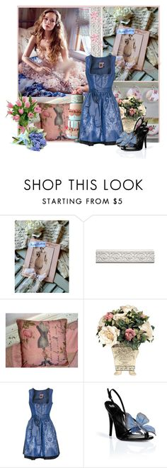 """""""Happy Birthday - greta-martin"""" by nz-carla ❤ liked on Polyvore featuring Original Vintage Style, GERMAN PRINCESS and D&G"""
