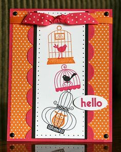Stampin' Up!  Aviary  Krystal De Leeuw
