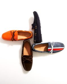 Car shoe brand (now owned by Prada - the original car shoe before Tods. started in the fashion women high-heel shoe on line Mens Loafers Shoes, Loafer Shoes, Men's Shoes, 1960s Fashion Women, Mens Fashion, Hairspray Costume, Car Shoe, Gentleman Shoes, Colorful Shoes