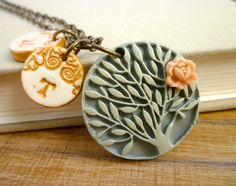 Family Tree Necklace  Mother necklace  Grandma by Palomaria, $42.00