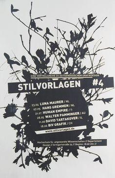 Stilvorlagen #4 Plakat