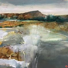 Landscape Paintings and photographs : WALKING EARTH-Abstract Landscape by Joan Fullerton Acrylic 24 x 24 Abstract Landscape Painting, Seascape Paintings, Watercolor Landscape, Landscape Art, Landscape Paintings, Abstract Art, Tree Paintings, Contemporary Landscape, Contemporary Artists