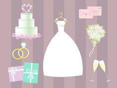 vector wedding clip art by irma ruslan via dreamstime