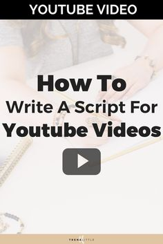 If you are ready to get started on Youtube but not sure how to write a video script for Youtube I'm going to break it down into 5 elements every good Youtube video needs! I use a video script template for every single video I create and I'm going to share with you my best script writing tips! #youtubetips #youtube #youtubevloggers #youtubevideo #bloggingtips #vlogger #VideoMarketing #videocontent