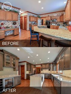 Uplifting Kitchen Remodeling Choosing Your New Kitchen Cabinets Ideas. Delightful Kitchen Remodeling Choosing Your New Kitchen Cabinets Ideas. Home Renovation, Home Remodeling, Kitchen Remodeling, Remodeling Contractors, Kitchen Remodel Before And After, Kitchen Cabinet Remodel, Living Room Remodel, Cuisines Design, Living Room Kitchen