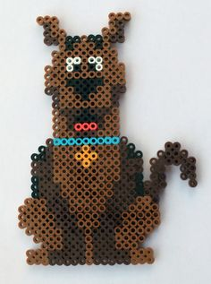 Handmade Perler Bead Scooby Doo Fridge Magnet or Wall Art   eBay