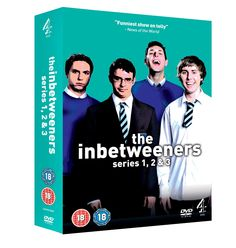 BARGAIN The Inbetweeners Series 1-3 Complete DVD Boxset £10 delivered at Amazon - Gratisfaction UK