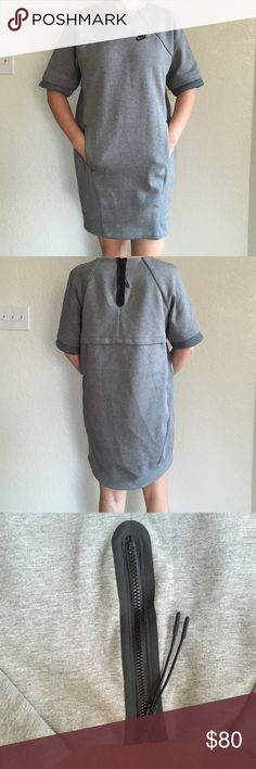 Nike dress. New. With tag. Size S Nice dress. 69% cotton. 31% polyester . Lining 100% cotton. Nike Dresses Asymmetrical