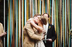 Mia and Paul's Backyard Maryland Wedding - photo by Sarah Culver - seen on YumYumWeddings.com :: Modern Wedding Inspiration