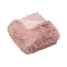 Keep warm in trendy, soft style with our Pink Faux Fur Throw Blanket. A colorful, cozy faux fur finish makes this perfect for those chilly nights. Blanket me…