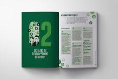 Graphic Annual Report on Behance Newspaper Design Layout, Book Design Layout, Adobe Indesign, Contents Page Design, Annual Report Design, Magazine Illustration, Publication Design, Catalog Design, Design Graphique