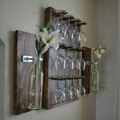 Uma dica de suporte prático para a sua casa! #wine #vinho #instavinho #instawine #decor