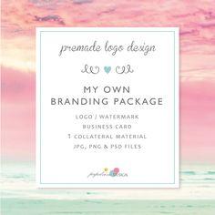 Branding kit / branding package / Material de marketing / Professional branding / Logo prediseñado /  - MOPK by papelvivodesign on Etsy