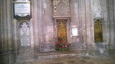 Jane Austen Memorial in Winchester Cathedral