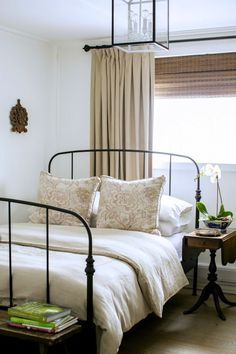 when i imagine a country home the idea of chicken wire worn plaid - Wire Bed Frame