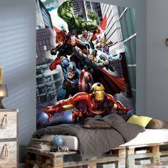 Marvel Team Avengers Wallpaper XL