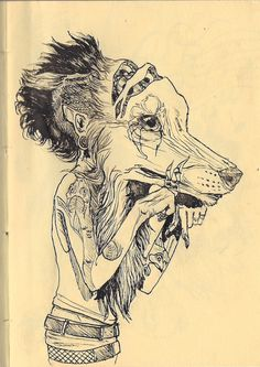 #wolf #illustration #drawing #art