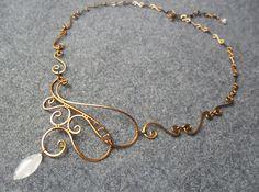 BUY 3 get FREE SHIPPING Kupfer Halskette mit von MakeMyStyle