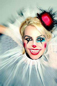 Clown Make Up Madhen Helen Old Billingsgate Clown Make-up by MadhenUK, via Flickr