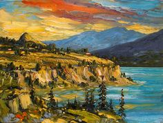 Rod Charlesworth's colourful impressionistic paintings evoke feelings and emotions about places, instead of rendering strict analytical representations of them. Canadian Painters, Feelings And Emotions, Impressionist Paintings, Canada, Fine Art, Artwork, Beautiful, Work Of Art, Visual Arts