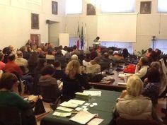 Biosalus Festival, conferenza con Leonardo Vittorio Arena. Foto: Città di Urbino