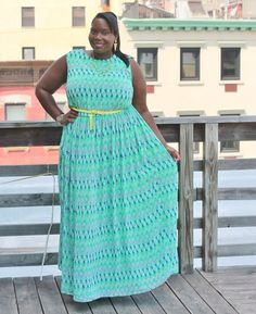 STYLE JOURNEY: TAKING IT TO THE MAX IN A KOKO FOR SIMPLY BE PLUS SIZE MAXI DRESS