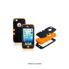 $9 Double Layer Shockproof Hybrid Case for iPhone® 4 or 5 - Assorted Colors at 70% Savings off Retail!