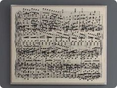 Sheet Music Wall Art: how-to, click on Amy's Casablanca.