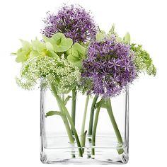 Buy LSA Cube Vase Online at johnlewis.com