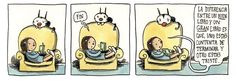 PENSAR ES DIFÍCIL: LAS AVENTURAS DE ENRIQUETA, FELLINI Y MADARIAGA (de Liniers)