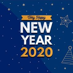 International Calling, Happy New Year 2020, Calling Cards, Calm