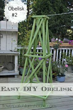 Make An Easy Obelisk 2