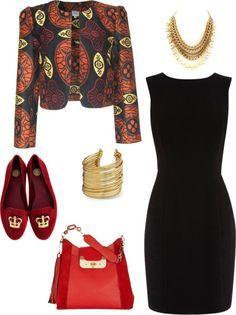 """Business meeting with style"" by kalhya ~African fashion, Ankara, kitenge, African women dresses, African prints, African men's fashion, Nigerian style, Ghanaian fashion ~DKK"