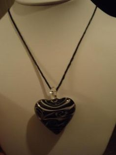 This necklace has like glitter shine through it.  Free Shipping  Check out my other items here  http://yardsellr.com/yardsale/Marla-Jones-198554