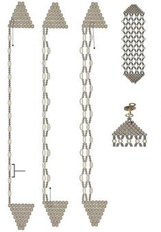 brick stitch and netting bracelet tute. #Seed #Bead #Tutorials by hm2905