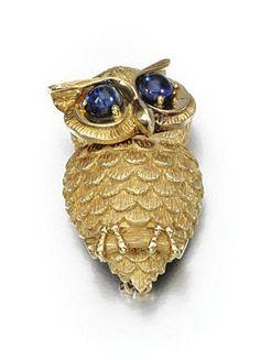 Sapphire brož, Cartier, 1963 - Sothebys